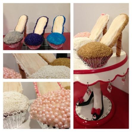 That's SO Jenn High Heel Shoe Cupcakes
