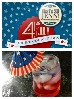 That's SO Jenn   patriotic drink